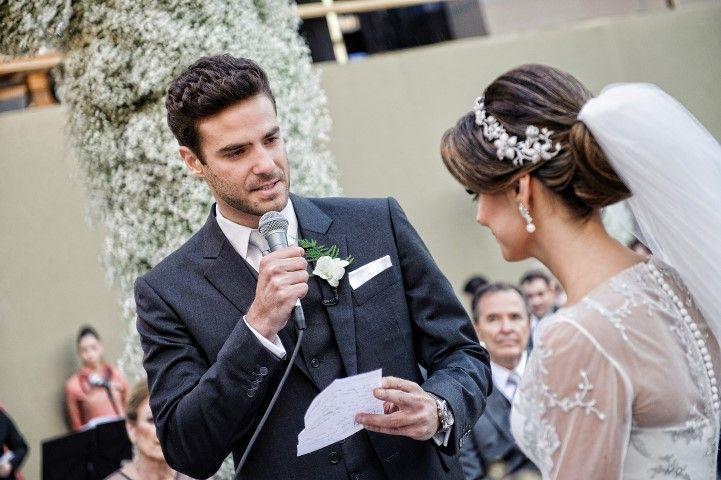 Votos de casamento: discurso do noivo - Foto Oswaldo Marra e Jane Magalhães Fotografia
