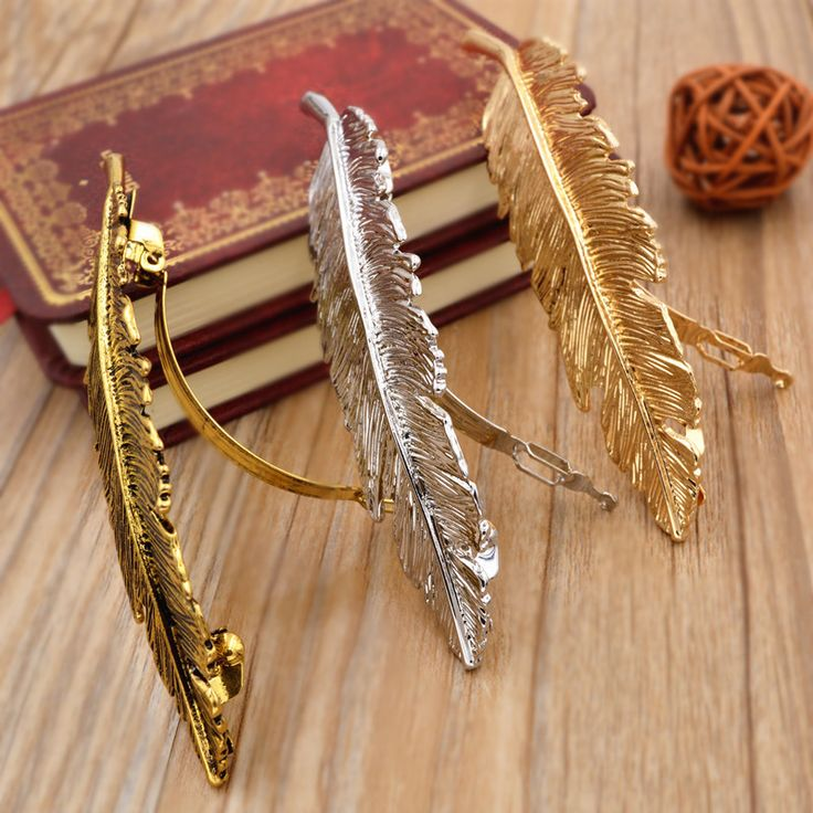 Coreano accesorios para el pelo Metal folha grampo de cabelo do ouro do Vintage Hairpin princesa mulheres acessórios de cabelo