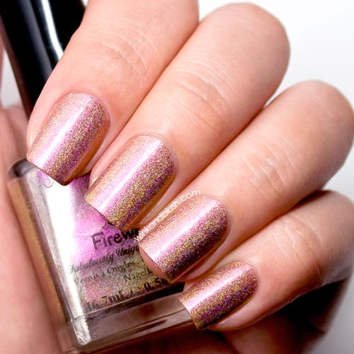 F.U.N Lacquer Fireworks Nail Lacquer Review & Swatches—New Year Collex 2014 | Wink And Blush