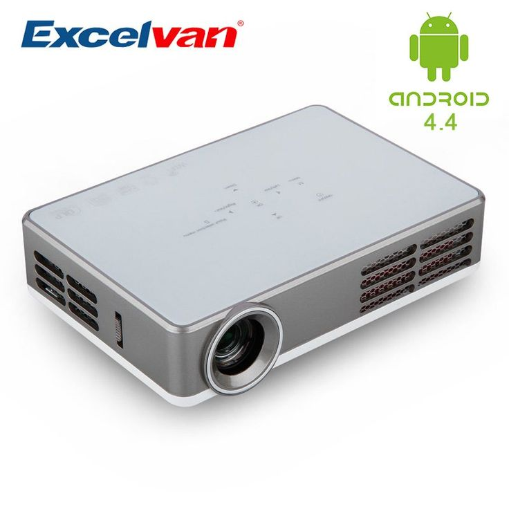 Excelvan LED9 Portable DLP Android 4.4 Wifi Mini Projector Full HD 3D Projector for Home Theater 1280*800 3000 Lumens 1080P //Price: $386.27//     #shopping