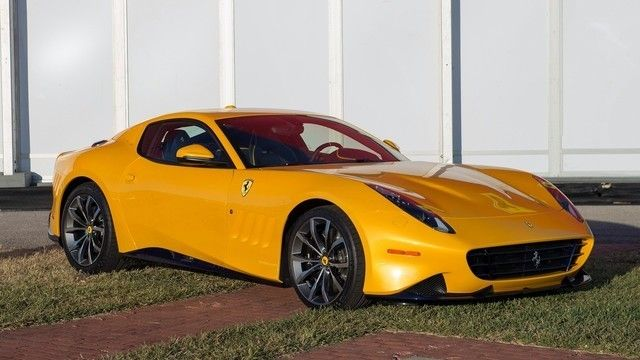 Cinco modelos de Ferrari de los que existe un único ejemplar