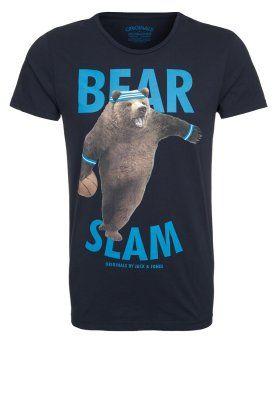 KICK - T-shirts print - blå