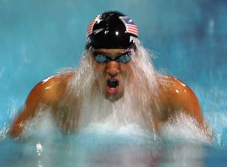 Michael Phelps - breaststroke