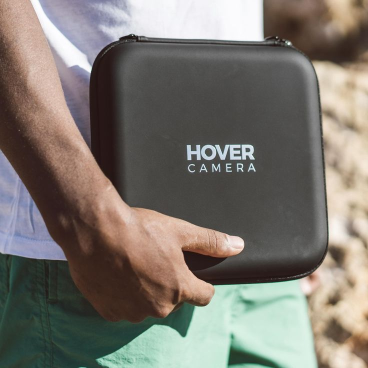 """Meet the Hover Camera Passport, a killer hovering drone camera that is essentially """"release and forget.""""  Using sophisticated mobile processors coupled with advanced face and body tracking, your new flying mobile buddy can follow you around autonomously.  So next time you're at the skatepark, or just hanging at the beach or a backyard BBQ, you can let it fly."""