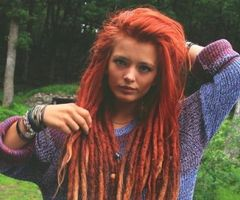 White girls with dreads :)