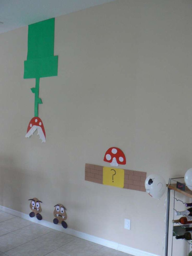 Super Mario Brothers Birthday Party Ideas | Photo 27 of 39 | Catch My Party