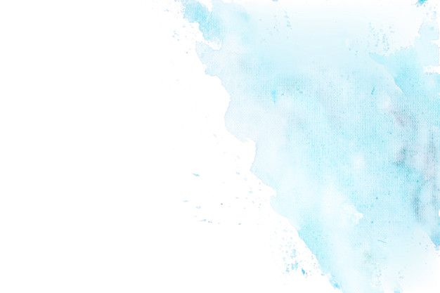 Download Blue Watercolor Degraded In A Corner Background For Free