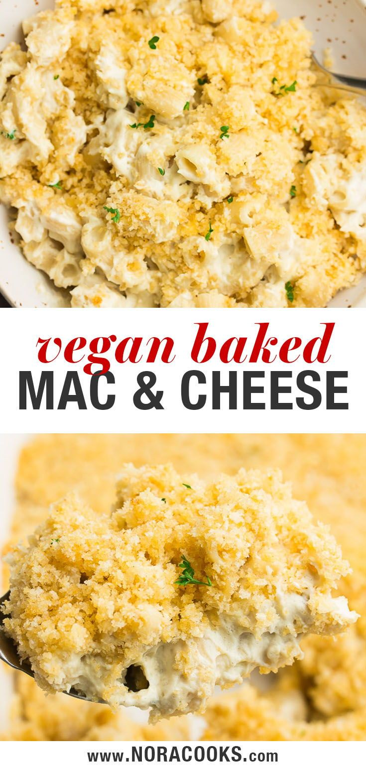 Vegan Baked Mac And Cheese Nora Cooks In 2020 Whole Food Recipes Vegan Cheese Recipes Vegan Mac And Cheese