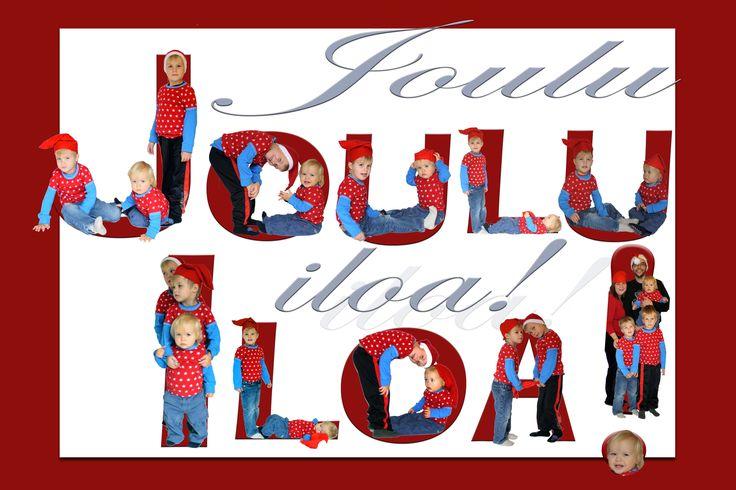 Joulukortti 2009 / Christmas card 2009