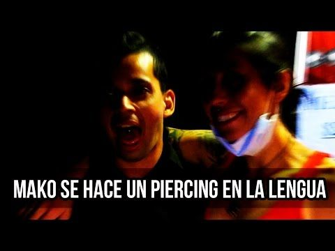 Mako se hace un Piercing en la Lengua | Frank Channel - YouTube