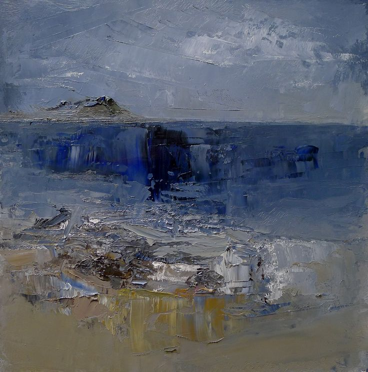 Lamlash Bay, Isle of Arran -  9 x 9 inches oil on board