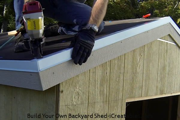 How To Install Asphalt Shingles Install Drip Edge On Roof Rake Over Building Tar Paper Roofing Drip Edge