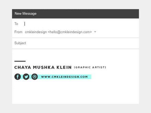 25+ best Create Email Signature ideas on Pinterest