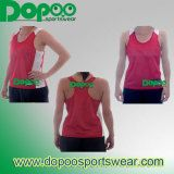 Breathable Custom Polyester Singlet Running Shirt on Made-in-China.com