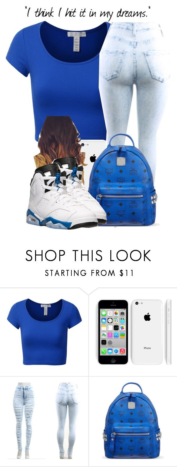 JORDANS #20 by theuniquedasia ❤ liked on Polyvore featuring J.TOMSON, MCM and Retrò