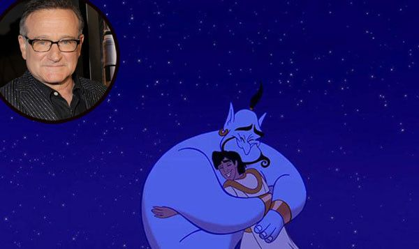 Never-Before-Seen Clips Released of Robin Williams as Aladdin?s Genie?Watch Now! | E! Online Mobile