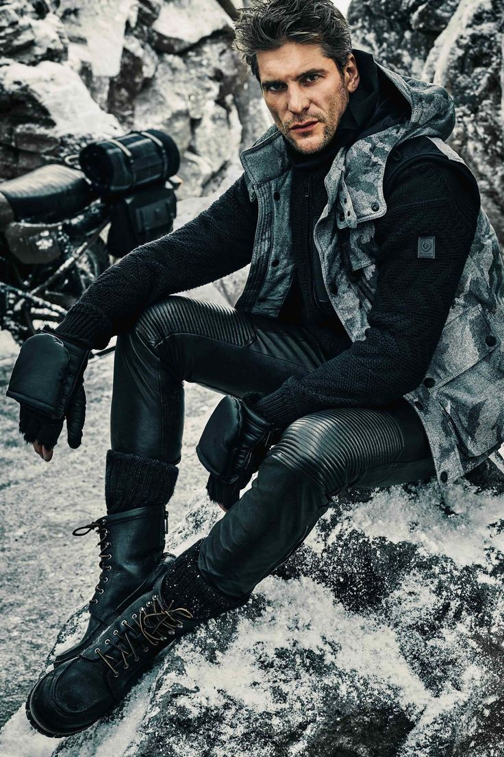 Belstaff Fall 2016 Menswear Fashion Show