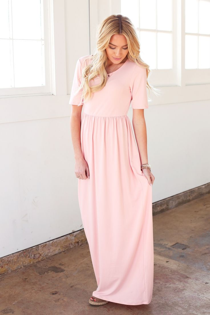 Back by popular demand, the Miranda maxi dress in pink! Omika ships worldwide from Perth Australia.