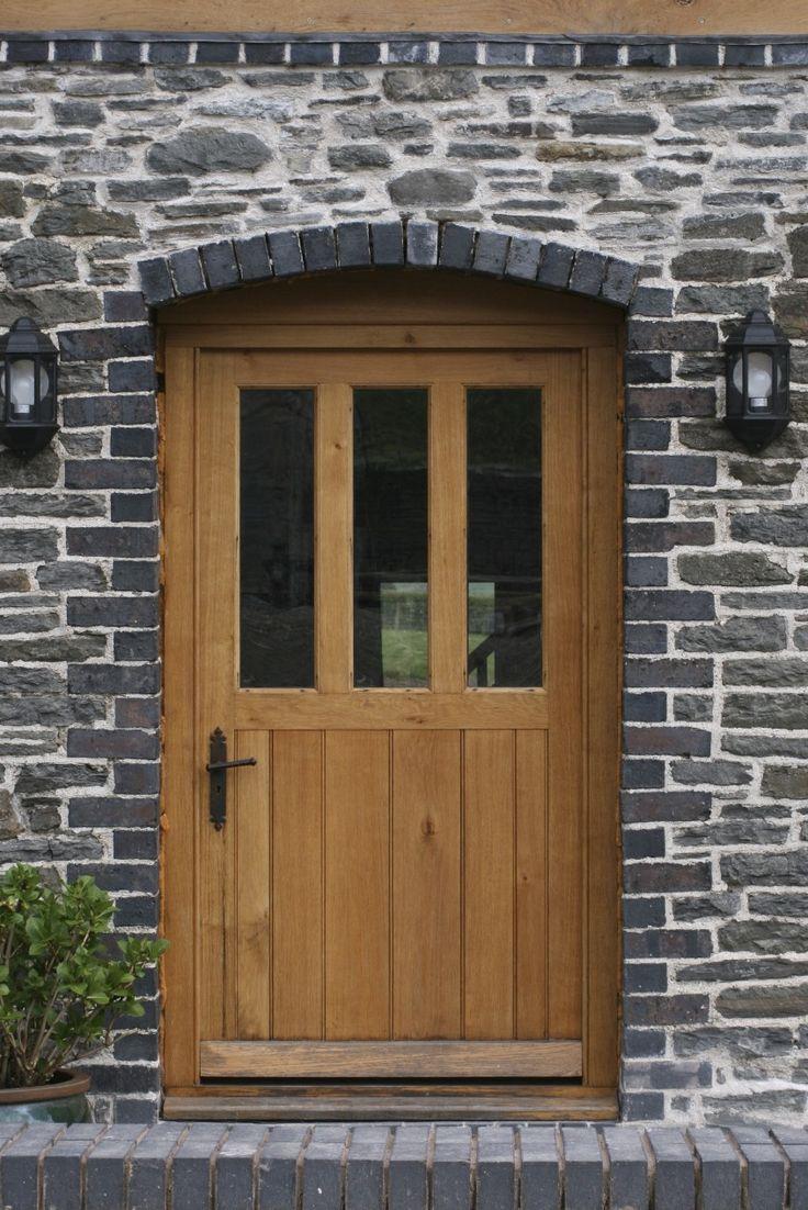 Oak door with our Iron door handles. To buy click below…