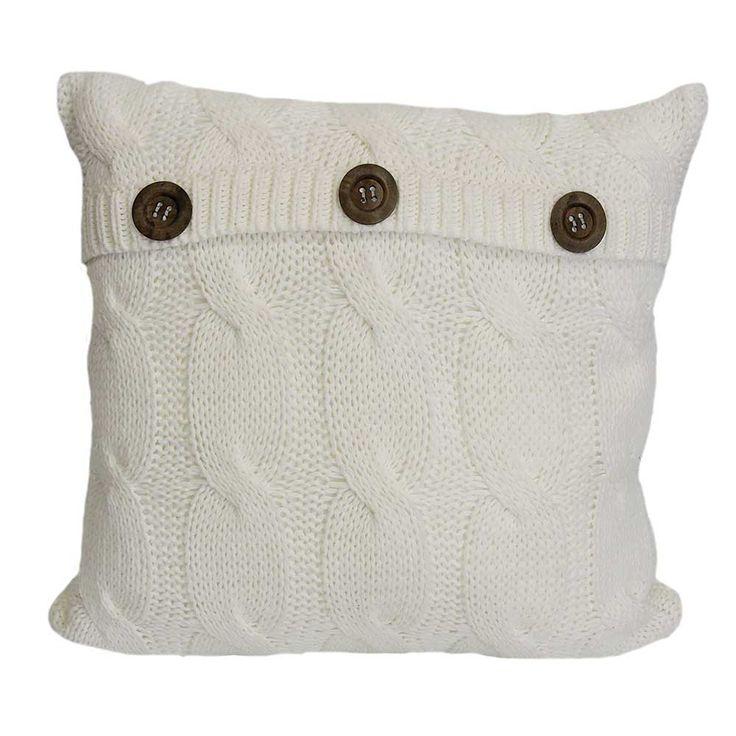 Sinclair Throw & Cushion - Solids - Decorative Pillows & Cushions - Decor