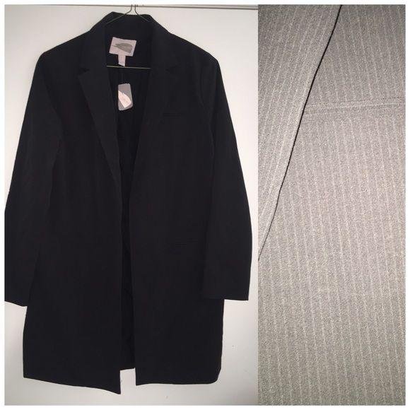 Forever 21 long blazer SALE Brand new pinstripes long blazer Forever 21 Jackets & Coats Blazers