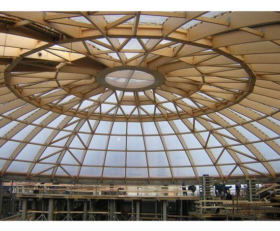 Spruce Glulam Beams For Roof Frames Rubner Holzbau Gmbh