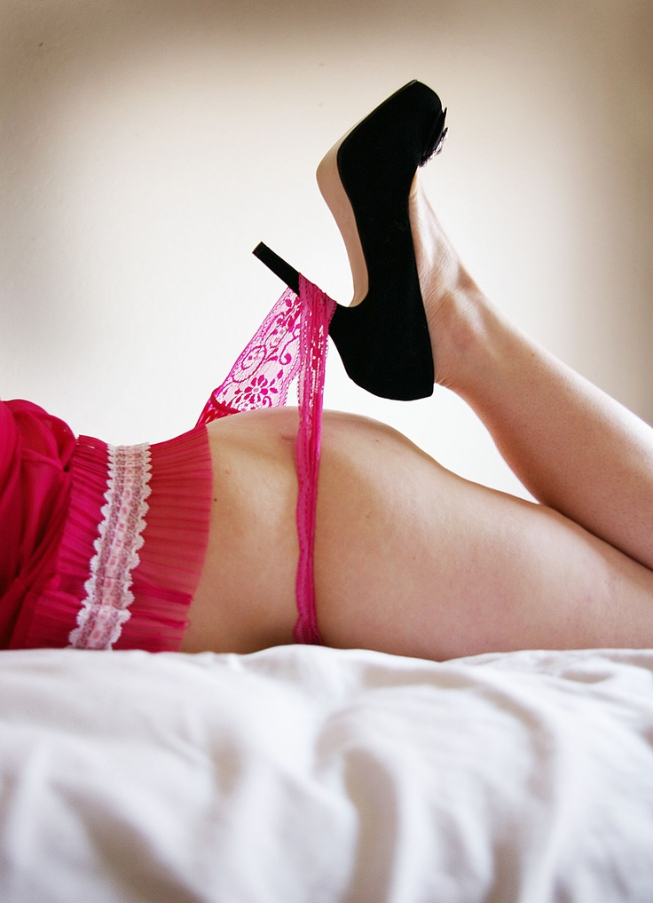 Lingerie boudoir photos heels confirm