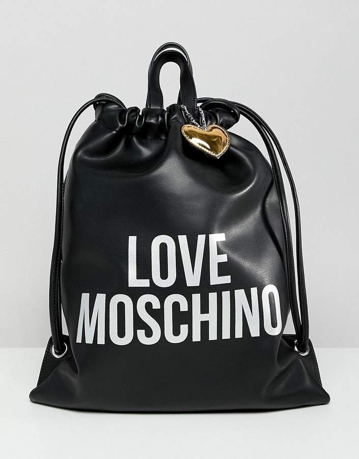 Love Moschino Logo Backpack | Zaino, Sacchi, Moschino