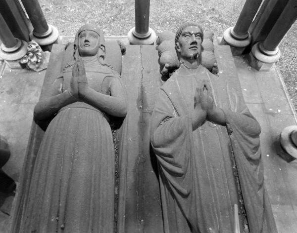 Abelard and Heloise - at Pere Lachaise cemetery, Paris