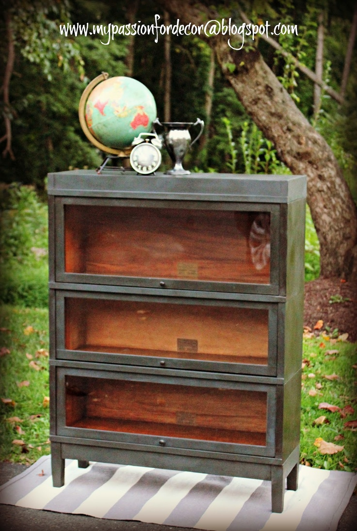 My Passion For Decor: Graphite Barrister Bookcase For Sean