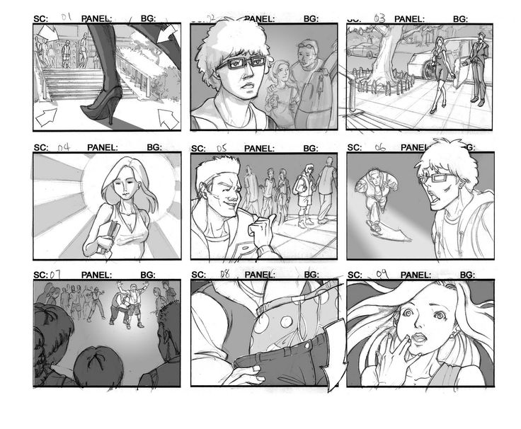 Best Storyboards Images On   Storyboard Comics And