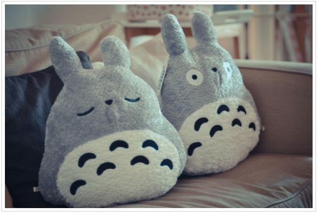 Totoro plushies!