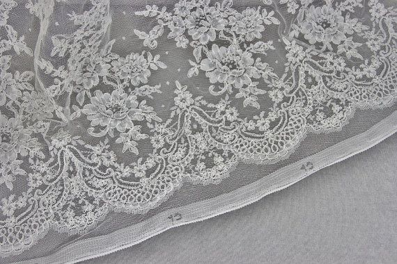 Classy Ivory French Corded Lace | Bridal Fabric | Free Delivery within UK