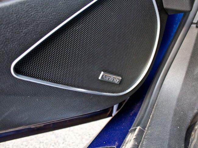 Upgraded Infinity sound system, front door speaker. Opel Astra J OPC