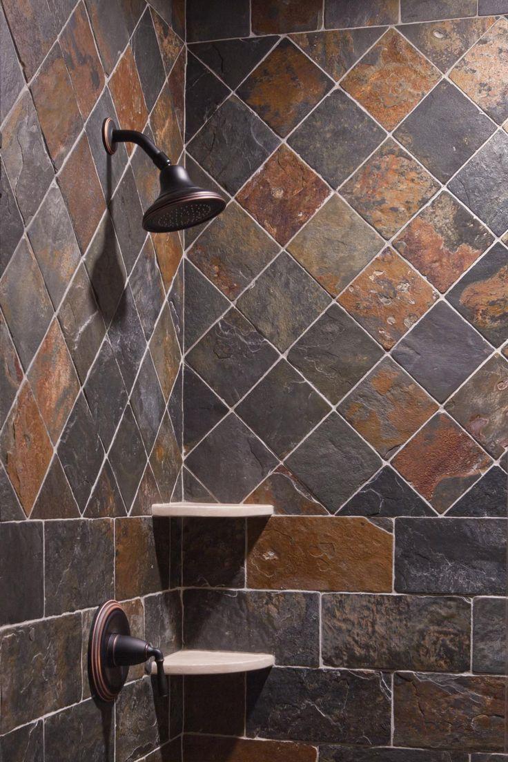 Slate Shower  www.cargillconstruction.com