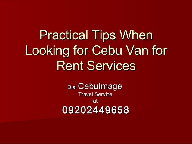 Passenger Van For Rent A Vacation How Much To