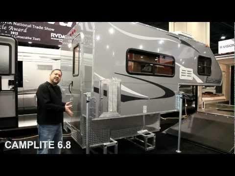Camplite 6.8 Ulta Lightweight Aluminum Truck Camper Overview | Livin' Lite RV