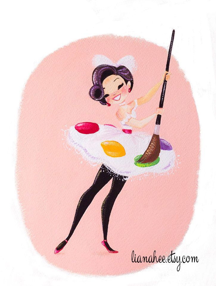 Oh My Gouache by LianaHee on Etsy