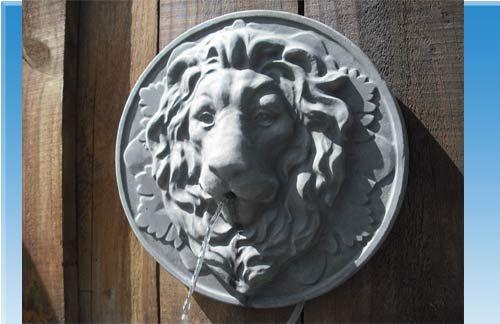 Löwenkopf Löwe Wasserspeier Gießform