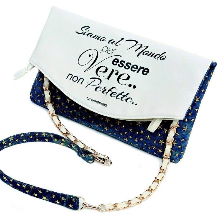 Perché le #borse @lepandorine non sono solo #accessori, sono stati d'animo. Sono oroscopi personalizzati ❤️ La mini #collection appena presentata è un tripudio di sensazioni #lepandorine #maibanali #fashion #words #star #capsule #summer #fluo #colors #nice #bags #clutch #instabag #passion