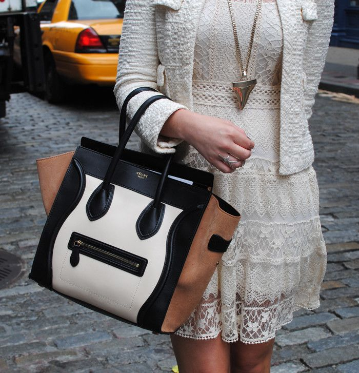 OFF WHITE | The Style Scribe  Chic Street Style + Celine bag...
