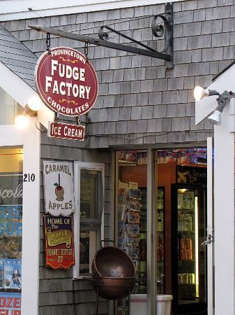 The best Fudge and Taffy - Review of Provincetown Fudge Factory, Provincetown, MA - TripAdvisor