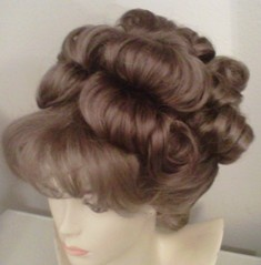 We offer Historical style wigs and hairpieces ,jewelry,and tiaras. We also offer one of a kind  items like corsets/ underpinnings and hats and on occasion other items of our design  ! By eras including Elizabethan (renaissance), Cavalier, Rococo (18th century), Regency(english  ), Romantic,Civil war(hoop), Natural form( 1877-1882), Bustle eras(1869-1876 and 1883-1889),La Belle Epoche (gibson/ 1890's) Edwardian 1901-1909, Teens era 1911-1919,  Flapper/ Art deco, 1930's, 1940's, 1950's a...: Edwardian 1901 1909, Hair Wig Wardrobe Inspiration, Bustle Eras 1869 1876, 1883 1889 La Belle, Era 1911 1919, Historical, Awesome Hair Wigs, Romantic Civil War Hoop, Eras Including