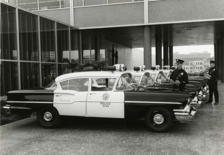 ◆The Los Angeles Police Department used the 1958 Chevy Delray patrol cars◆