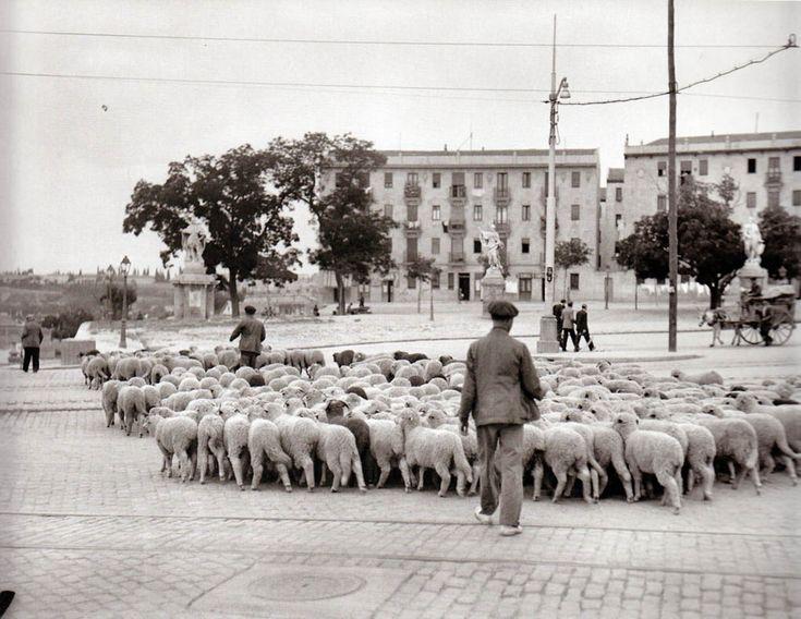 Spain - 1936. - GC - Glorieta de Pirámides - Imágenes del viejo Madrid