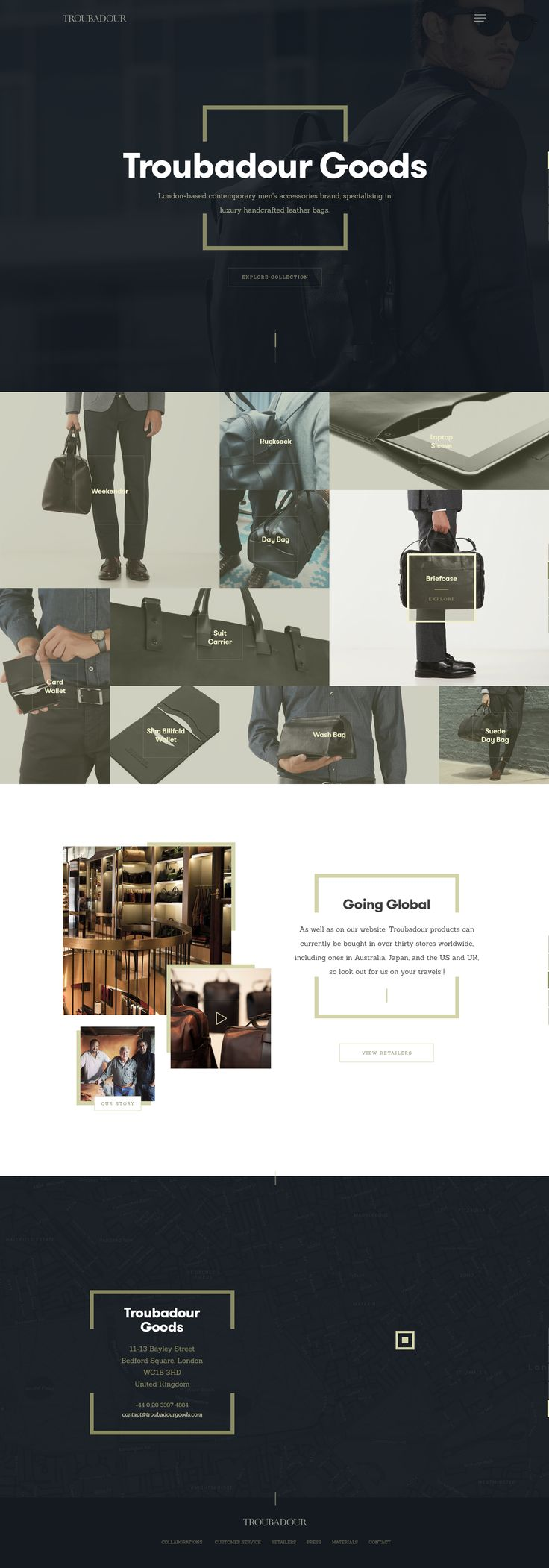 Troubadour homepage