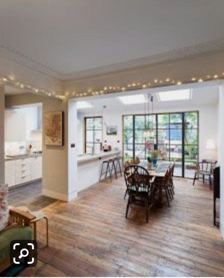 Idea By Luke Russon On House Ideas Kitchen Columns Open Plan Kitchen Living Room Home Decor Kitchen
