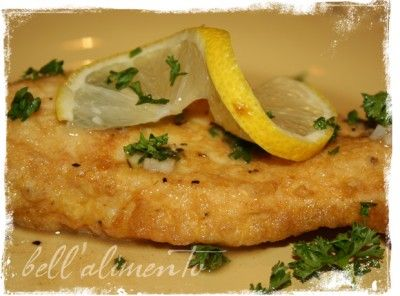 My favorite Italian Dish - Chicken Francaise (or veal, or fish, or shrimp)