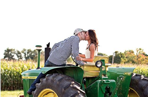 I can take you for a ride on my big green tractor....