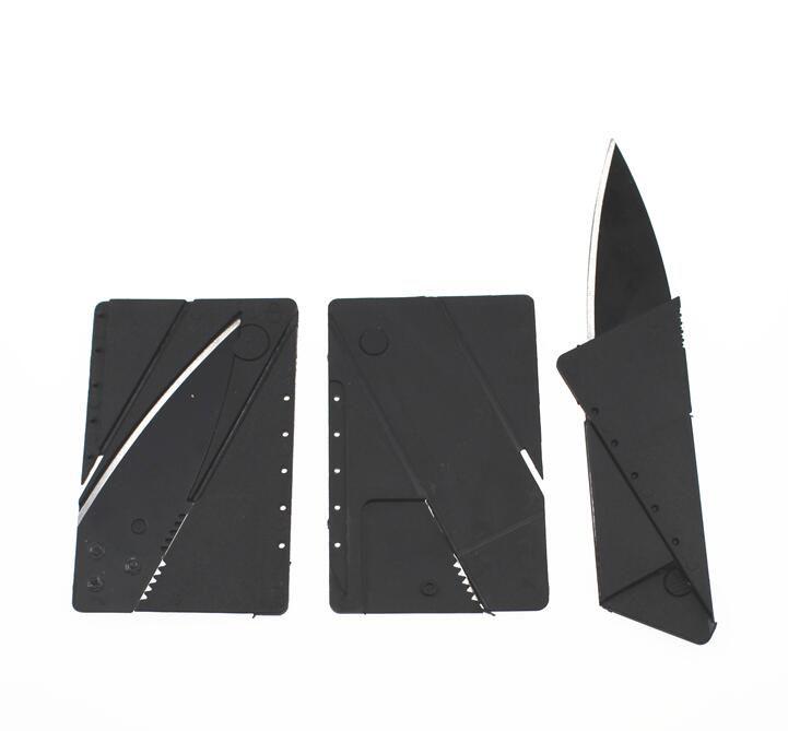 Kartu kredit pisau mini luar pocket pisau berburu berkemah alat pisau sharp tangan portabel survival pisau lipat